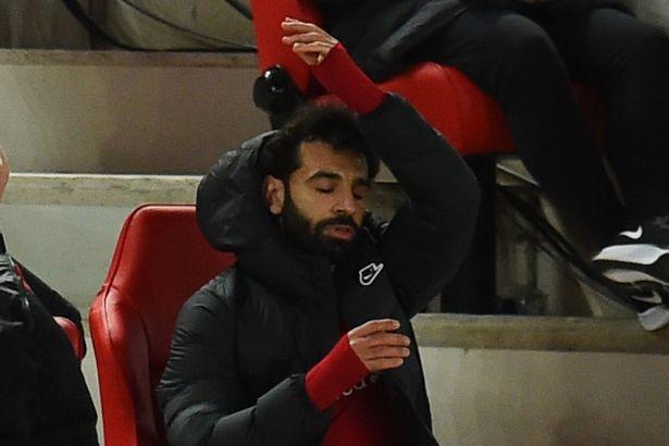 """ФОТО: Реакцијата на Салах откако беше заменет, Ливерпул заборави да победува на """"Енфилд"""""""