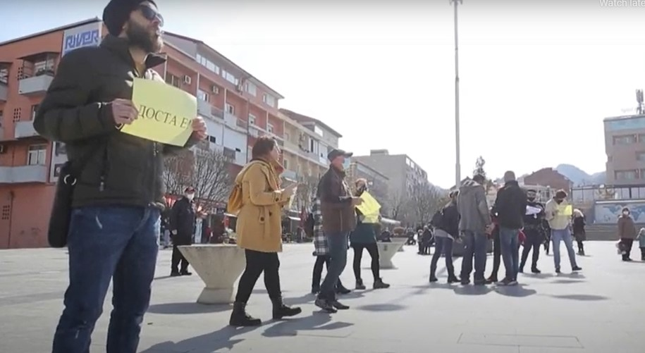 """""""Да престанат претставите по улиците"""": Актерите од Струмица покажаа незадоволство од директорот"""