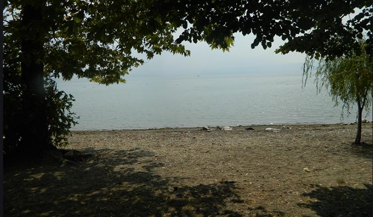 Кривична пријава за фрлање градежен шут во Охридското Езеро