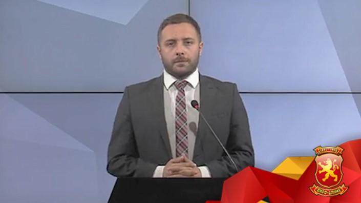 Арсовски:Додека се пљачкаат граѓаните со нови давачки и задолжувања, Заев во свој џеб ќе земе 50 милиони евра од покачувањето на горивата