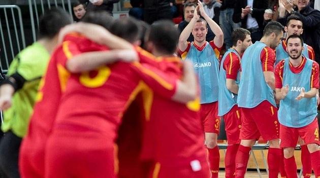Футсал селекцијата на Македонија херојски до бод во Врање, Петровски јунак на мечот