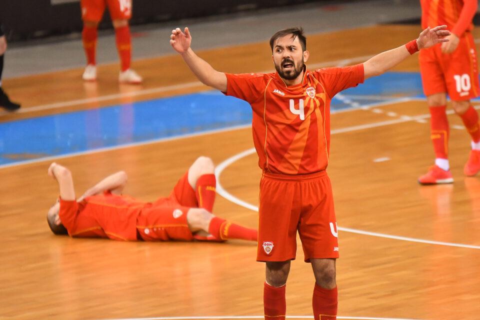 Футсал репрезентацијата на Македонија високо поразена од Србија