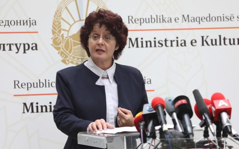 Стефоска призна дека не работи: Јас сум многу повеќе во улога на администраторка отколку министерка која креира културни политики