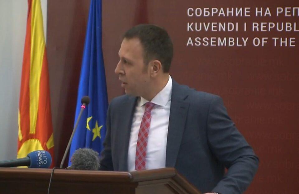 Јанушев: Собранието е нефункционално поради тенкото мнозинство на власта, а на Заев не може да му се верува кога зборува за националните интереси