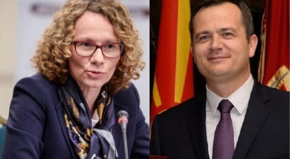 Ковачки до Шекеринска: Во твое време додека си претседател на СДММ се запали амбасада на САД- кој е за, а кој против НАТО?!