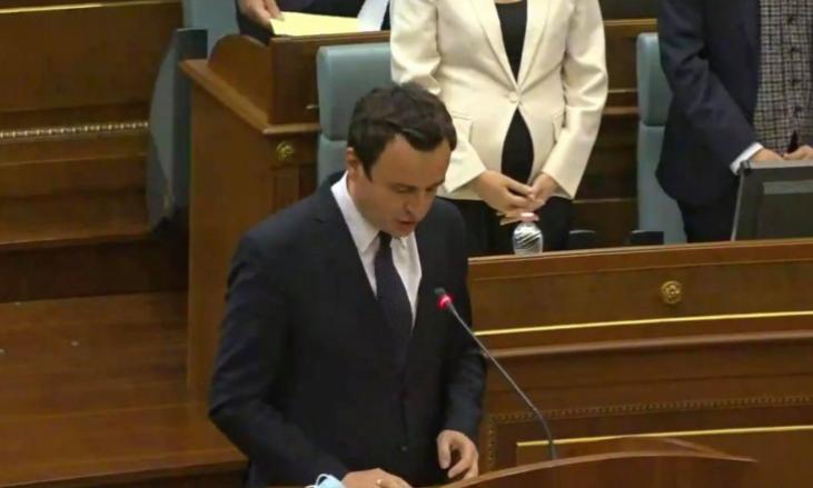 Косово ја доби новата Влада – Албин Курти е новиот премиер