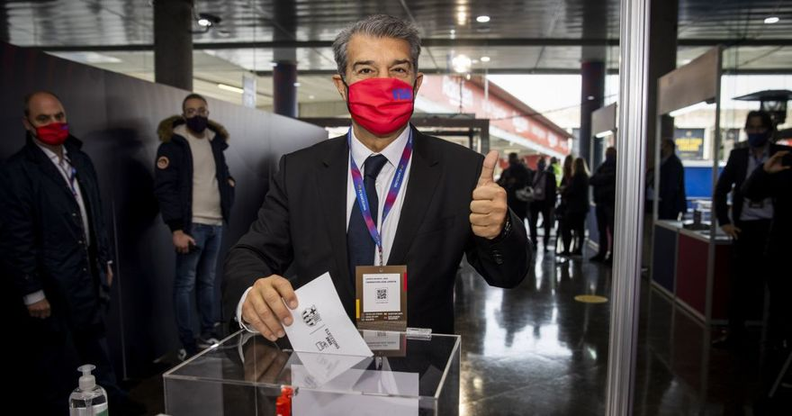 Жоан Лапорта избран за претседател на Барселона