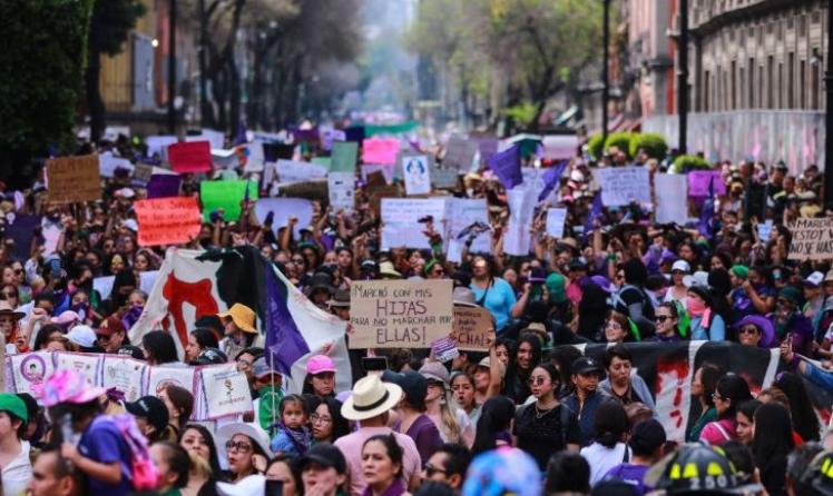 Протестот по повод Денот на жената во Мексико Сити, најмалку 19 повредени