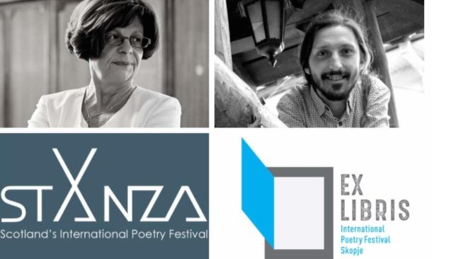 Поетите Катица Ќулавкова и Митко Гогов учесници на Шкотскиот меѓународен поетски фестивал Станца 2021