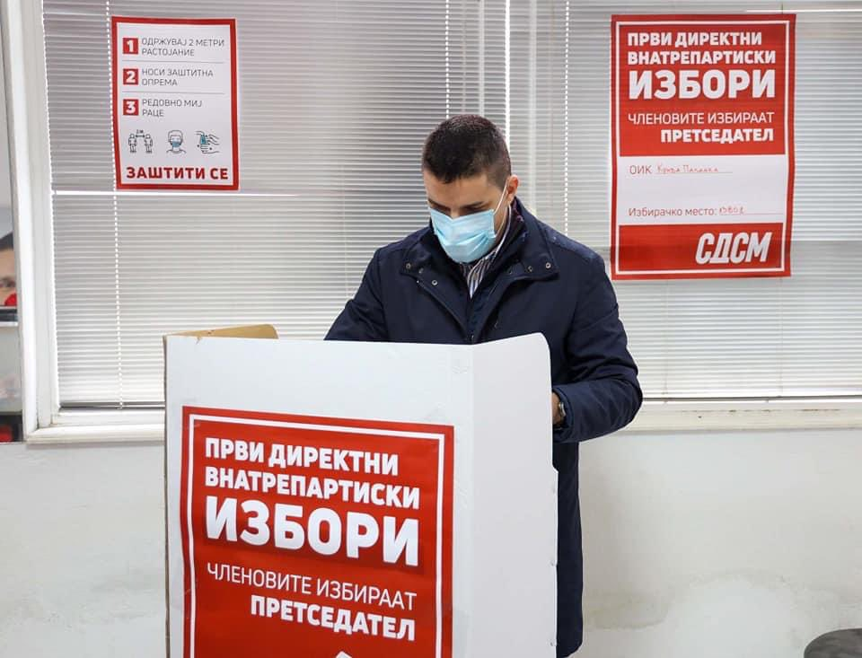 СДСМ го избра Љупчо Николовски за шеф на Централниот штаб за локалните избори