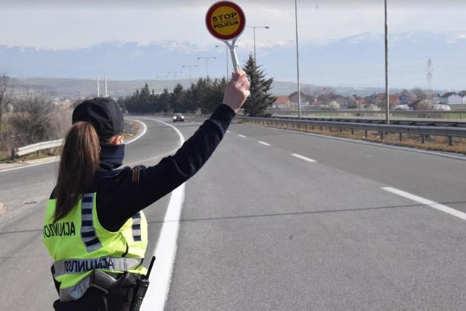 ЗА САМО ЧЕТИРИ ЧАСА: Полицијата во Куманово казни 44 возачи за брзо возење