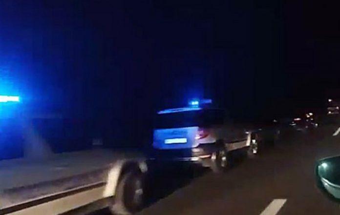 На наплатна рампа го сопрела полиција а потоа следел шок по извршениот претрес – приведен 49. годишник, кај него било пронајдено ОВА!
