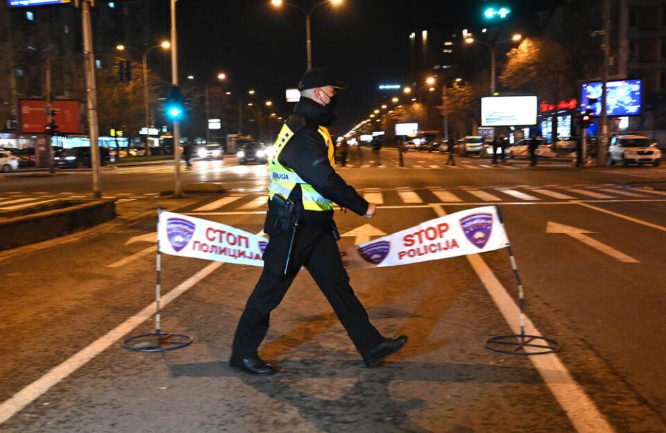 МВР: 21 прекршување на полицискиот час, 584 граѓани не носеле маска
