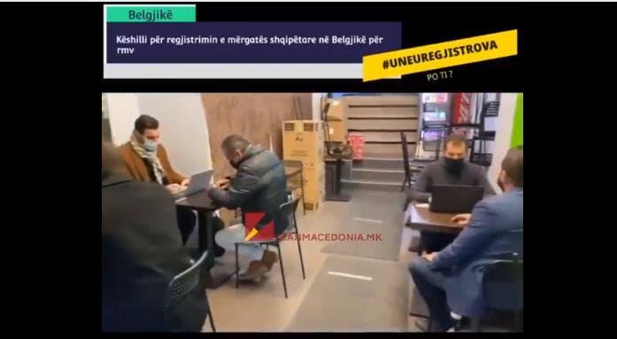 Белгија: Се Мобилизира албанската дијаспора, попис се спроведува и во сендвичара! (ВИДЕО)