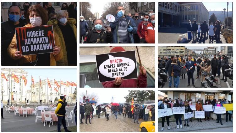 Влада на граѓаните или влада на протести: Можно ли е брзо заминување на Заев од премиерската фотелја?