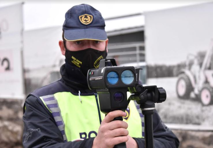 На територија на Куманово за пребрзо возење, казнети 84 лица