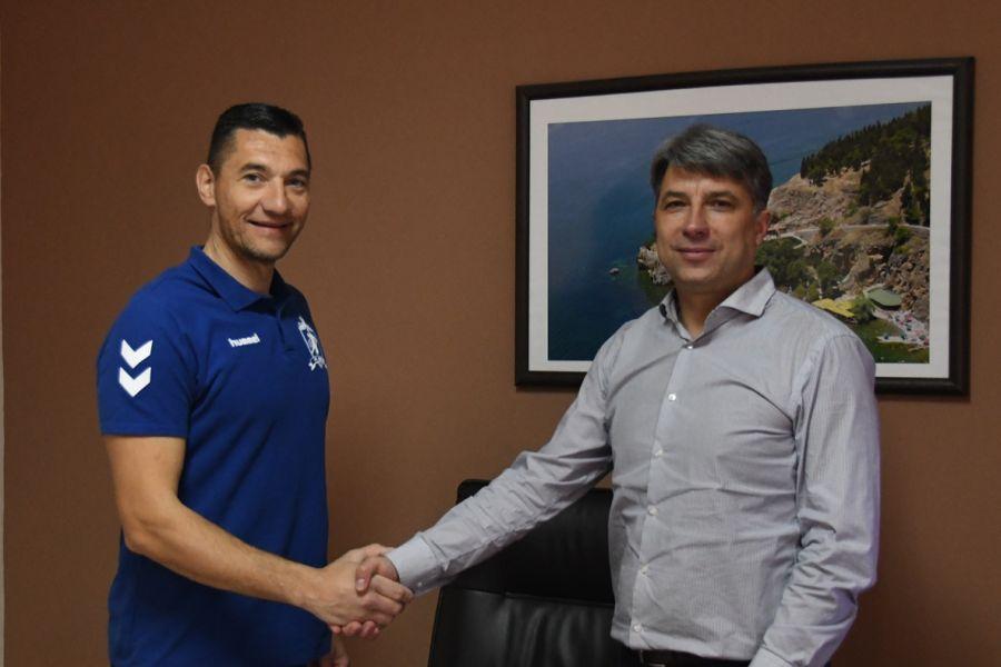 Раде Стојановиќ ја продолжи соработката со ГРК Охрид