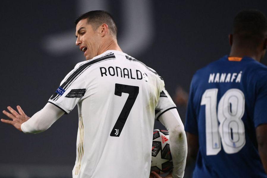 Соблекувалната на Јувентус против Кристијано Роналдо