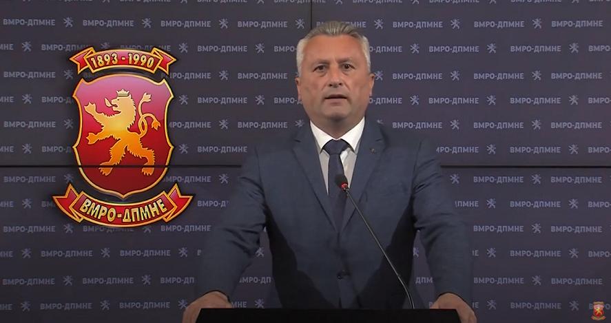 Сајкоски назначен за претседател на РИШ на ВМРО-ДПМНЕ за претстојните локални избори