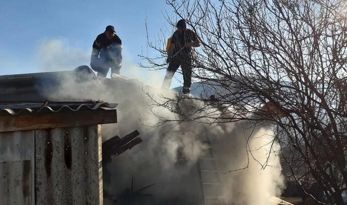 Пожар во куќа во Струмица, едно лице пронајдено во безсознание