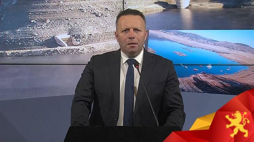 Јованчев: ЕЛЕМ го испразни ХЕЦ Тиквеш, нивото на водата е доведено на мининум, под знак прашалник е и сезоната за наводнување