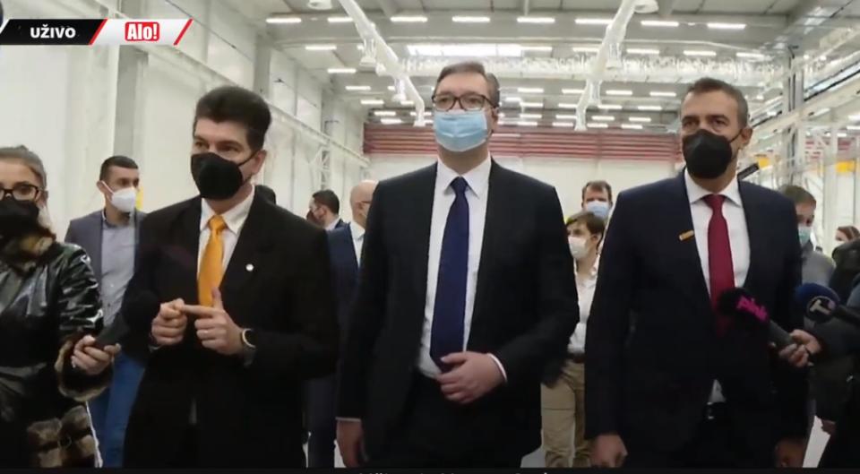 Отворена нова германска фабрика во Србија, Македонија со Заев никаде ја нема