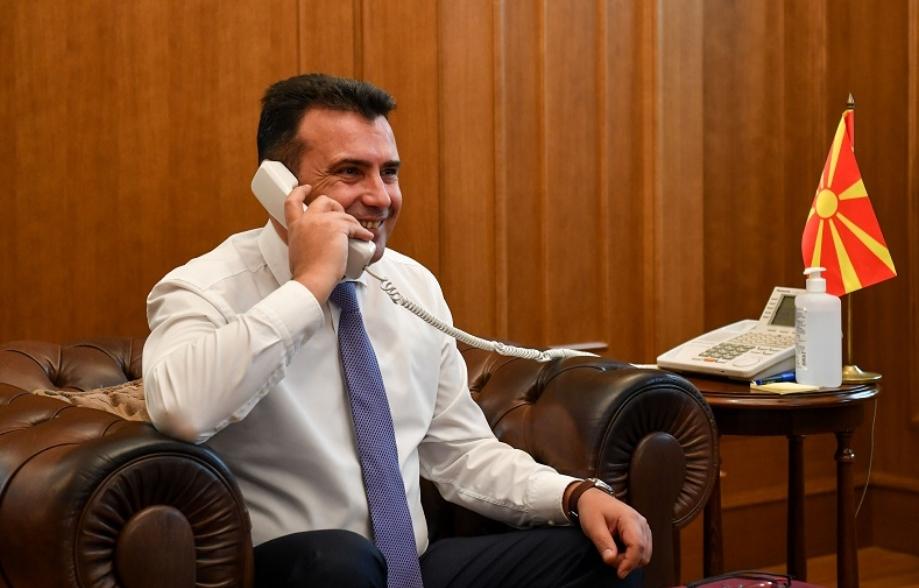 Мицкоски: Заев на избори победува со нарко дилери и шверцери со мигранти, тоа е неговата војска