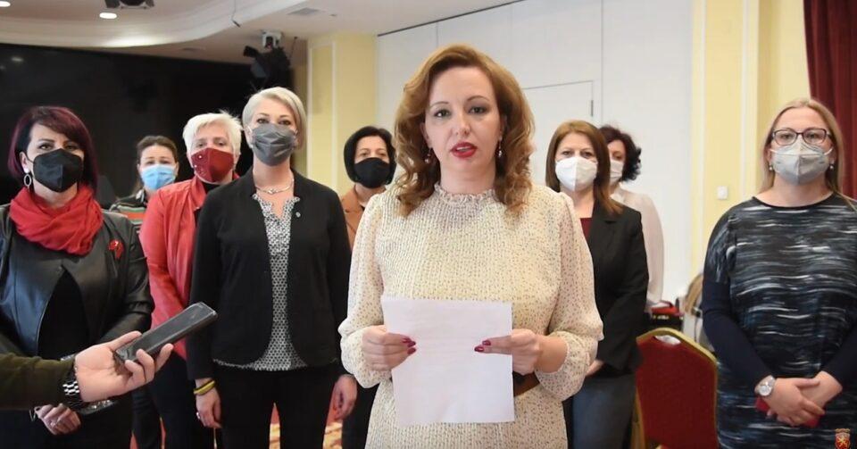 Пешевска: Унијата на жени на ВМРО-ДПМНЕ одржа крводарителска акција и со тоа уште еднаш ја покажaвме нашата хумана страна
