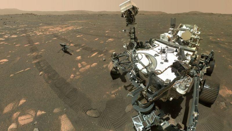Успешно изведен лет на малиот хеликоптер на Марс (ВИДЕО)