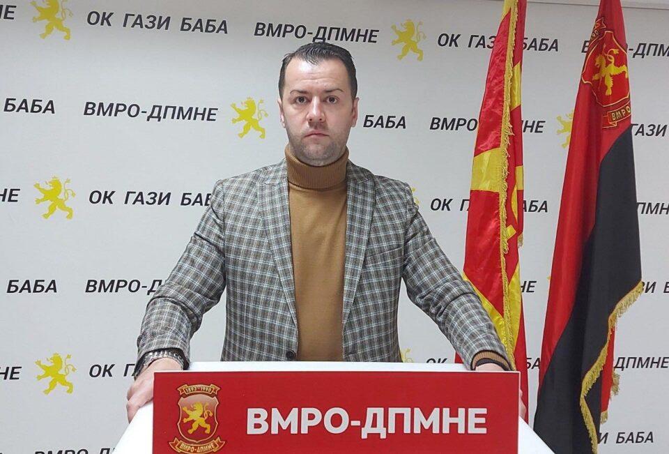 Стефковски: Стоп за хемиски отпад во општина Гази Баба