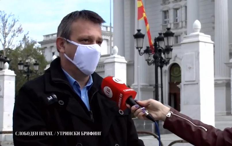 Ралковски: Работничките права се на најниско ниво од независноста на државата, ако не постигнеме договор ќе преземеме порадикални мерки