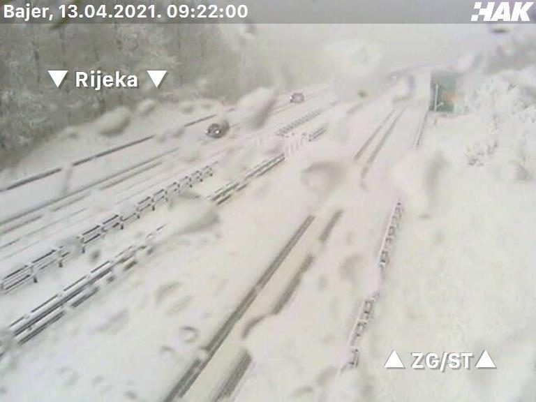 ХРВАТСКА ЗАТРУПАНА СО СНЕГ- невремето доаѓа и кон Македонија, еве кога се очекува да пристигне снежната бура! (ФОТО)