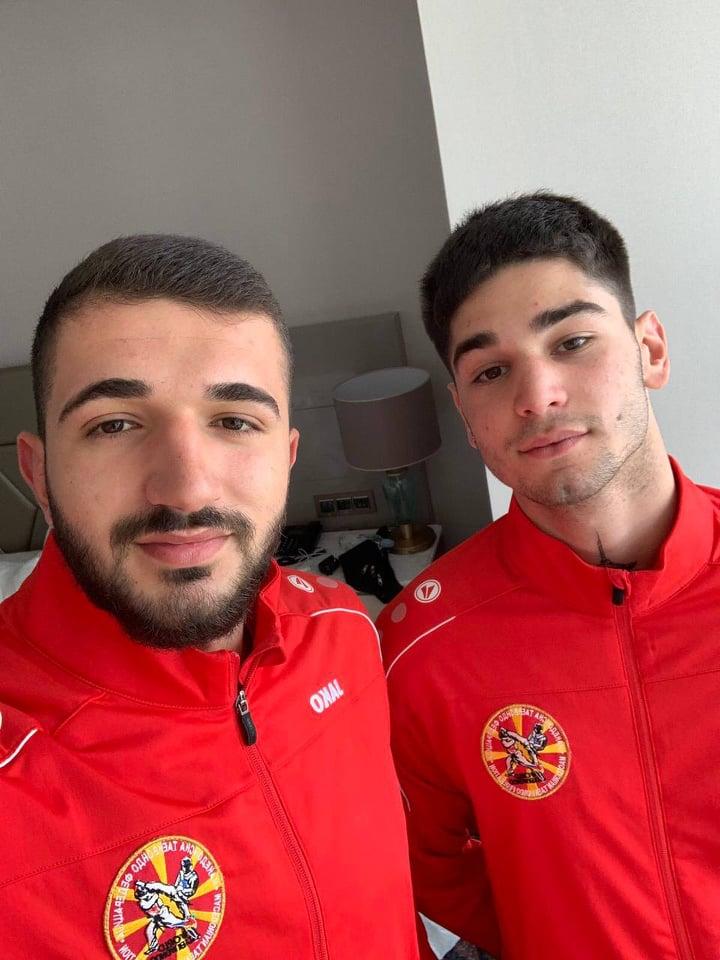 Георгиевски и Додевски одат на медал од ЕП во олимписко Таеквондо