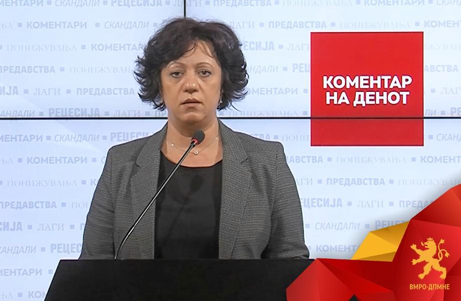 Стаменковска Трајковска: Имаме двојно повеќе починати од Ковид19 отколку што Филипче тврдеше дека ќе заболат- Утре во 11 часот протест пред МЗ