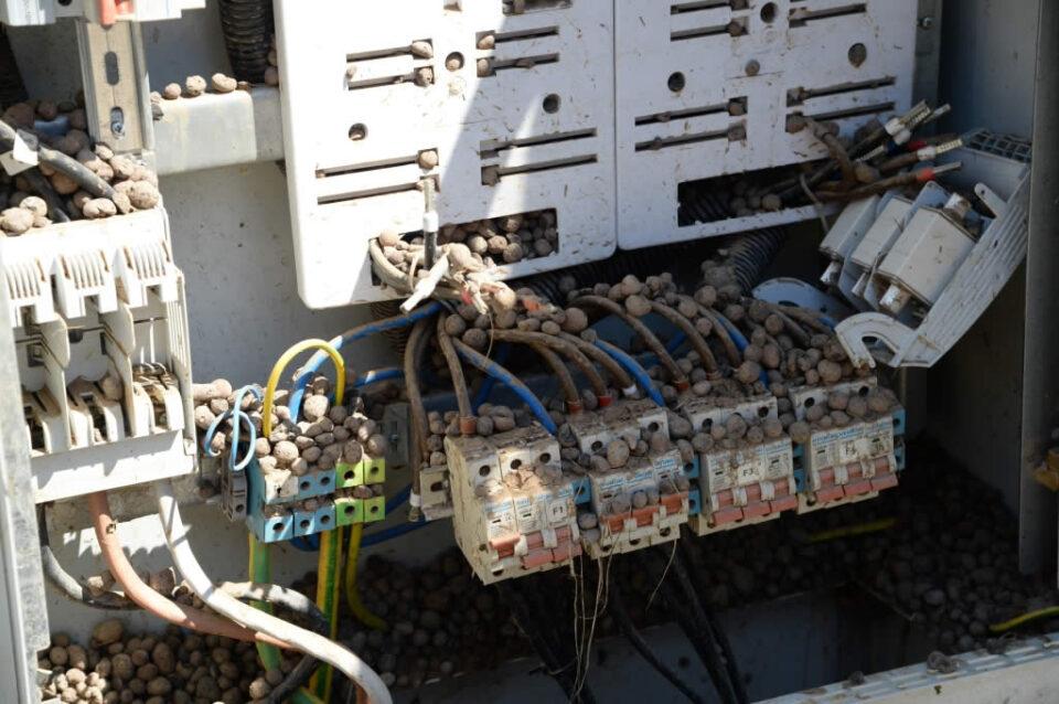 Гореше електричен ормар на ЕВН