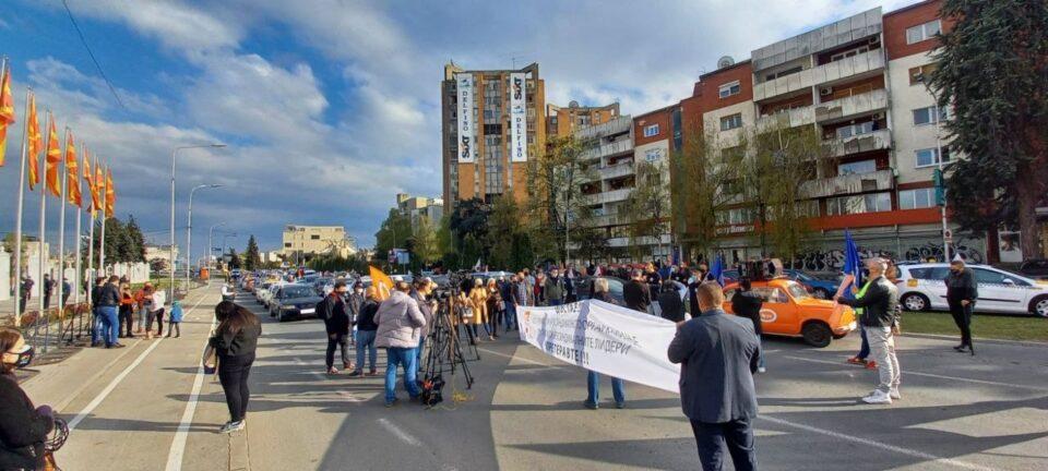 Протест на КСС: Доста е, претеравте- ќе продолжиме со протестите порадикално и помасовно