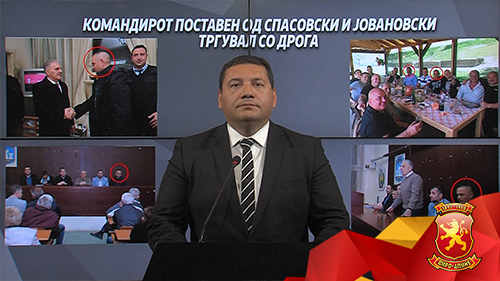 Ристески: Спасовски треба да си поднесе оставка што негов командир на полиција и близок соработник тргувал со дрога