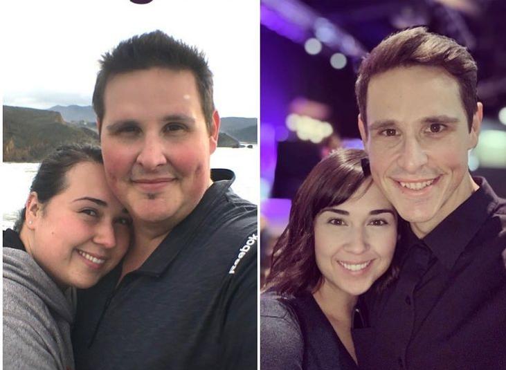 Маж и жена изгубиле вкупно 190 килограми: После 7 години обидување, конечно добиле бебе (ФОТО)