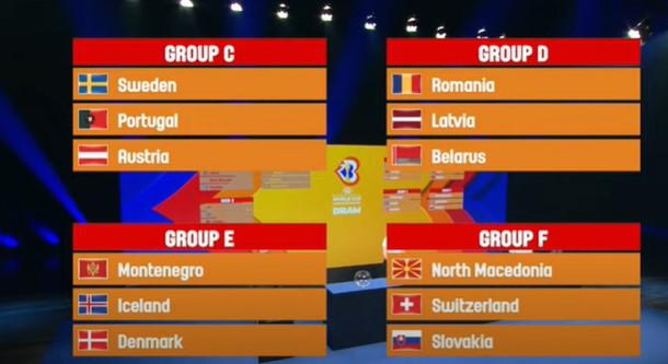 Македонските кошаркари против Швајцарија и Словачка ги почнуваат квалификациите за СП