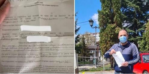 Ѓорѓиевски: Ме казнија затоа што со боја обележав паркинг место за инвалиди, кое општината не го обележи цели три години