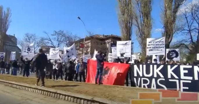 Заврши протестот за осудените за убиството на Никола Саздовски: Бараат прeквалификација на предметот