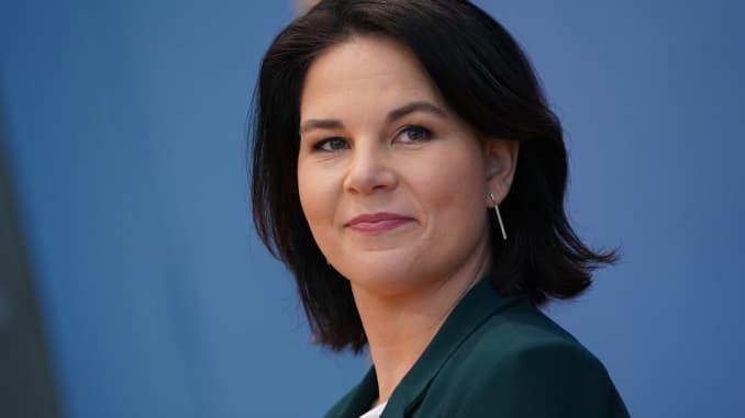 Аналена Баербок избор на Зелените за кандидатка за нов германски канцелар