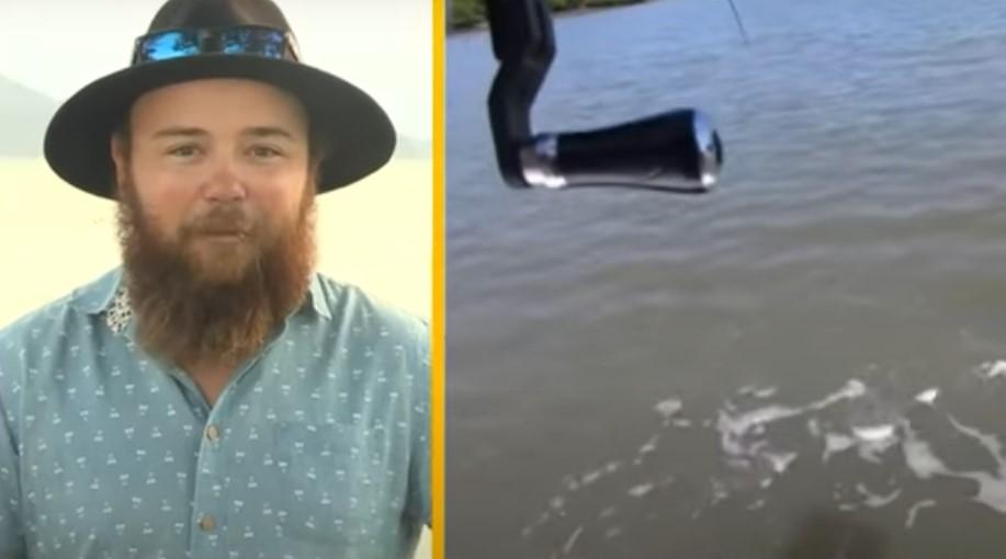 Овој рибар остана шокиран: Мислеше дека фатил огромна риба, но… (ВИДЕО)