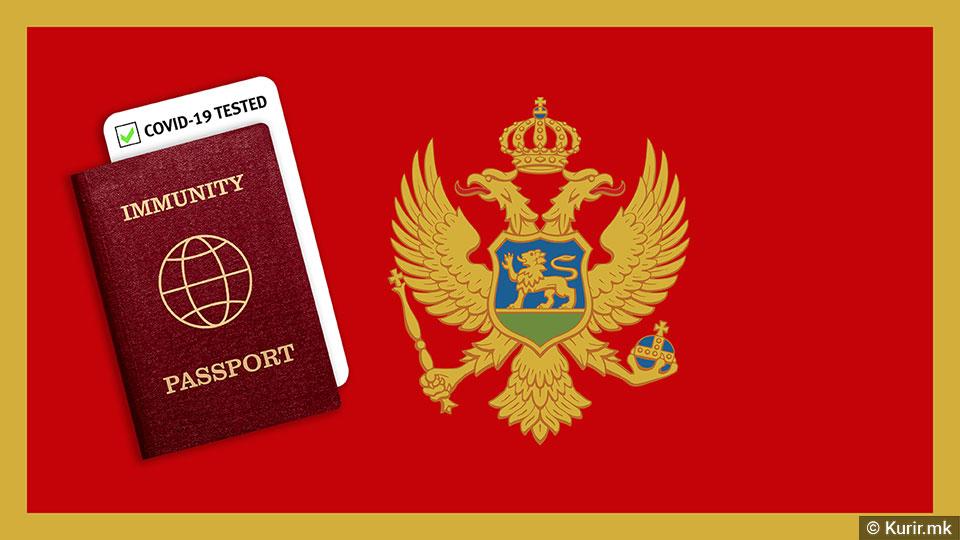Црна Гора: Нови мерки од петок, се воведува и дигитална Ковид-потврда