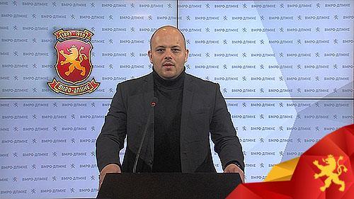 Костовски: Смилевски троши 1.6 милиони евра за привремени вработувања за 4 години, наместо да инвестира во проекти