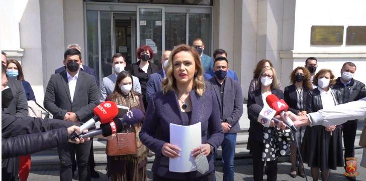 Панова: ВМРО-ДПМНЕ и коалицијата поднесе кривични пријави против Џафери и двајцата пратеници