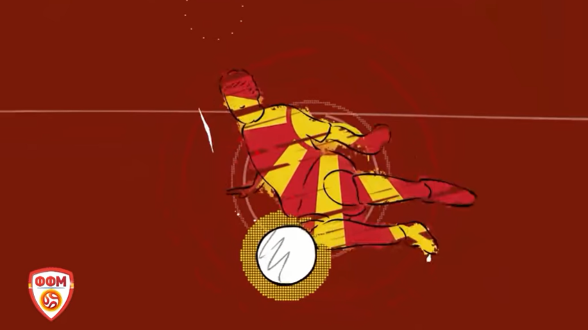 """ВИДЕО: """"Одиме на Европско првенство""""- слушнете дел од новата навивачка химна за фудбалските херои"""
