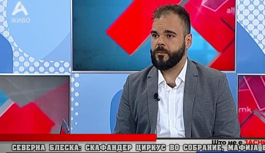 Илиевски: Однесувањето во Собранието е надвор од здравиот разум, власта има психолошки проблеми потребен и е психијатар