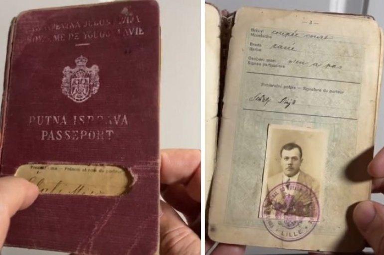 Колекционер на пасоши на ТикТок има омилен документ за патување! Нема да верувате на кого припаѓал (ВИДЕО)