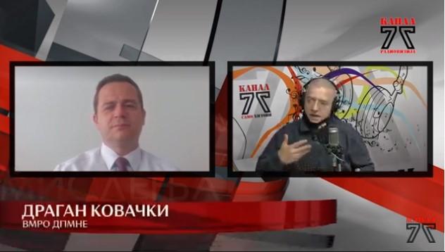 Ковачки до Спасовски: Нема криминалец кој не ви побегнал, а се уште немате постапка ниту проти директорот на БЈБ кој пукаше во Собрание на 27ми април кон народот